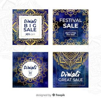 Diwali instagram post collection