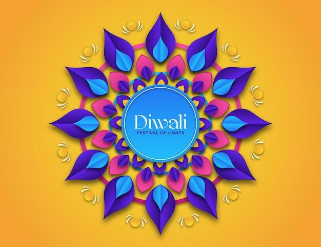 Diwali en style papier