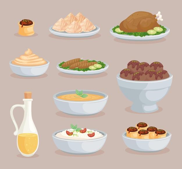 Dix aliments arabes