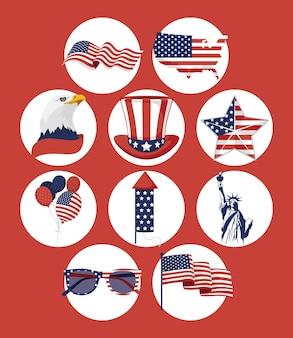 Dix articles sur l'indépendance des états-unis