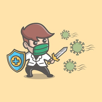 Docteur fight corona