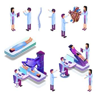Docteur de groupe en recherche médicale virtuelle en processus