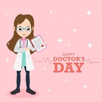 Docteur jour illustration