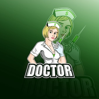 Le docteur logo e sport