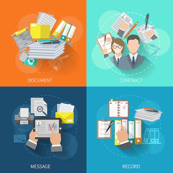 Document concept design set