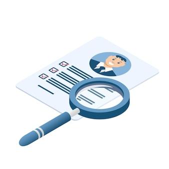 Document avec des données personnelles