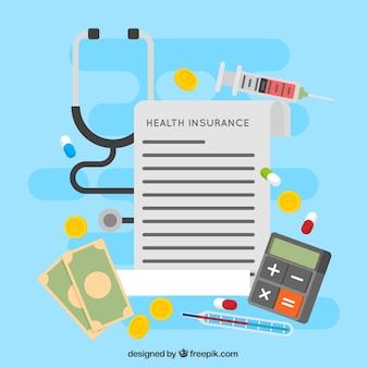Document et éléments de santé insunace