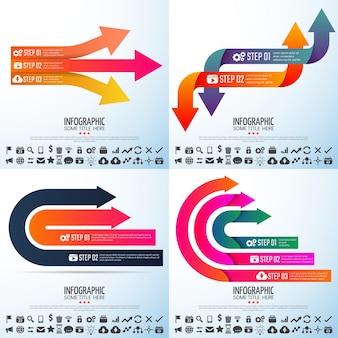 Document technique moderne brochure statistique infographie