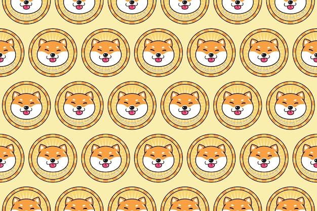 Doge monnaie cyrpto modèle de monnaie