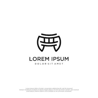 Dojo logo vecteur templete