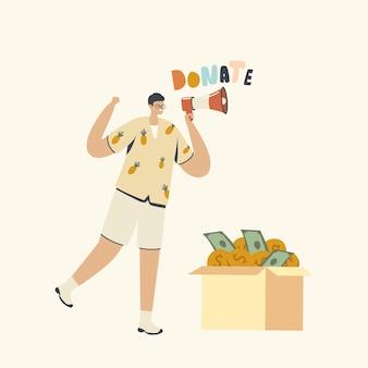 Don, illustration caritative