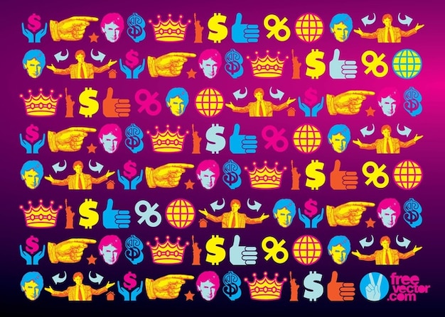 Donald trump wallpaper pattern