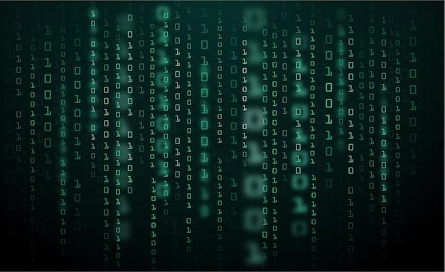 Données binaires et code binaire en streaming