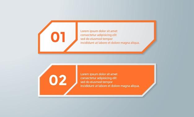 Données de concept créatif pour infographie.