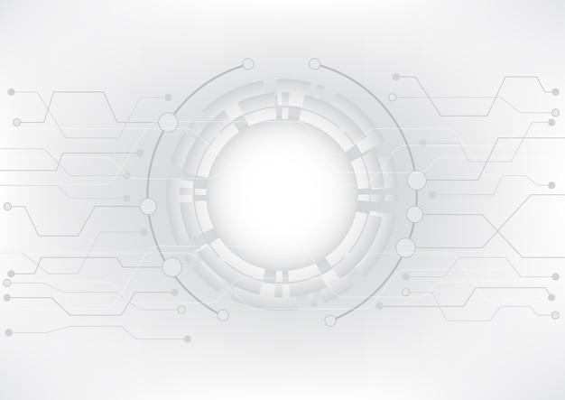 Données futuristes et gestion moderne de la technologie.