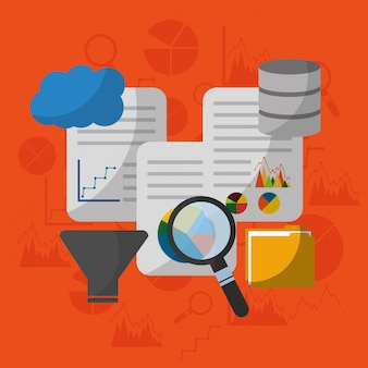 Données technologie analyse recherche filtre processus centre de document nuage