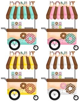 Donut panier coloré