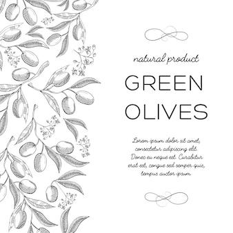 Doodle de carte décorative de conception informative de typographie