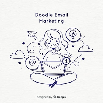 Doodle email marketing