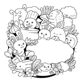 Doodle de lapin