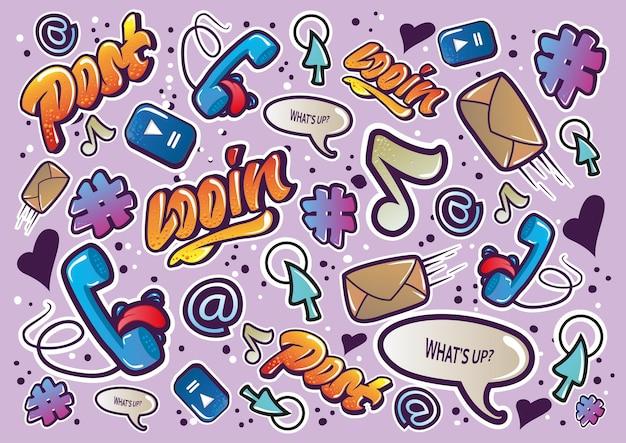 Doodle social.