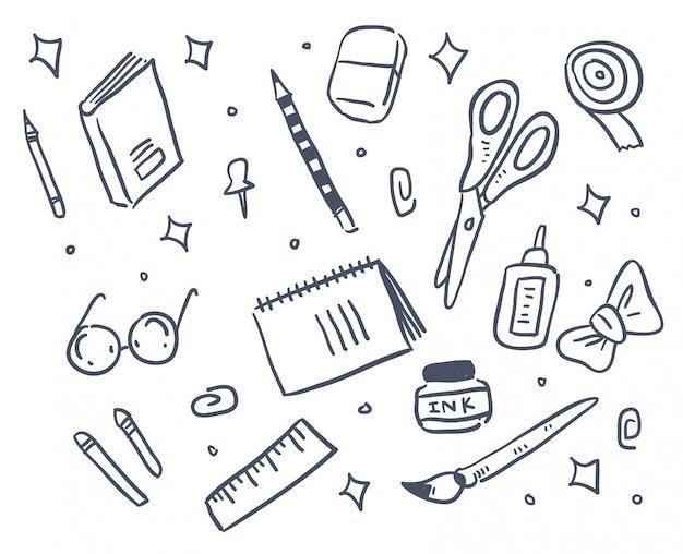 Doodle stationnaire
