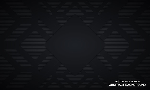 Dop noir abstrait moderne