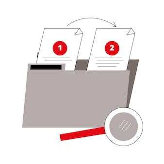 Dossier des documents de collection