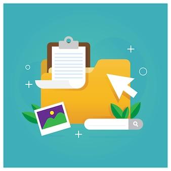 Dossier de fichiers