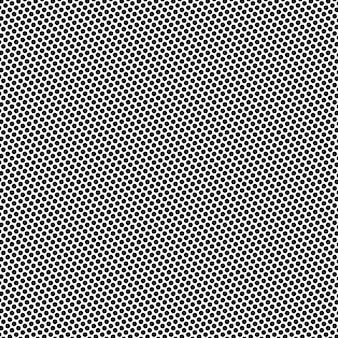 Dot abstrait isolé sur blanc. vecteur