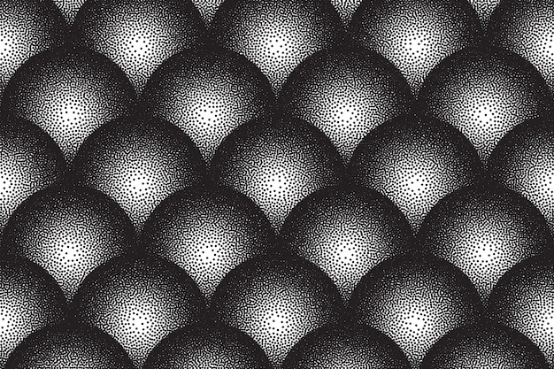 Dotwork motif abstrait vectoriel