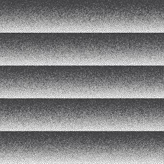 Dotwork texture rayé noir et blanc