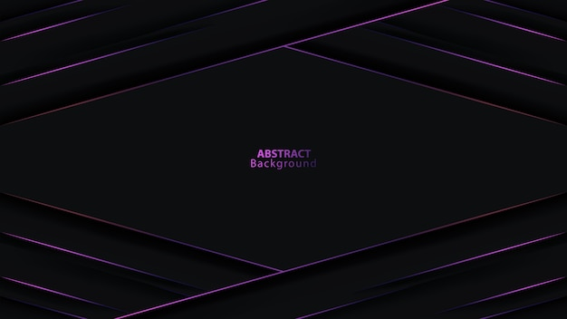 Double cercle de direction de flèche métallique gris foncé violet maille fond futuriste