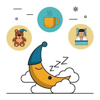 Doux rêves et bon sommeil infographique