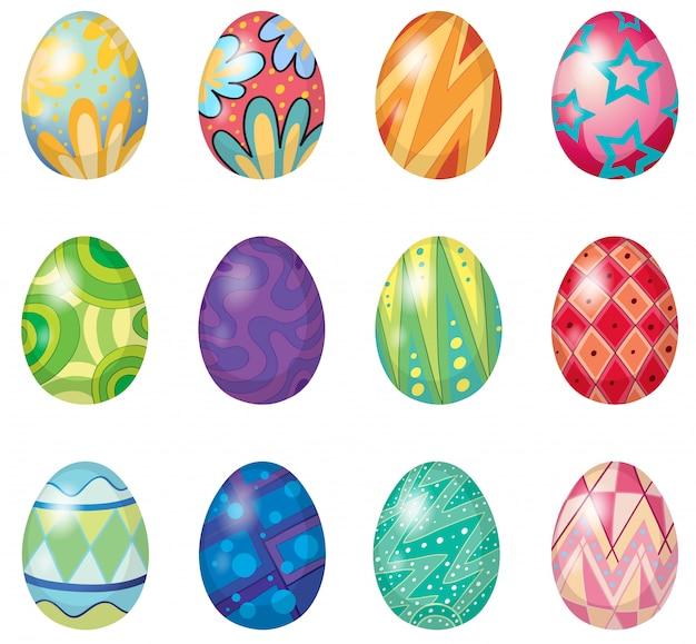 Douze œufs de pâques