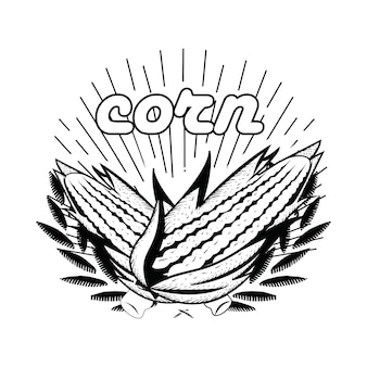 Draawn de main de maïs