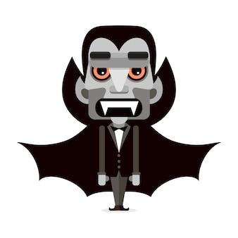 Dracula mignon dans une cape