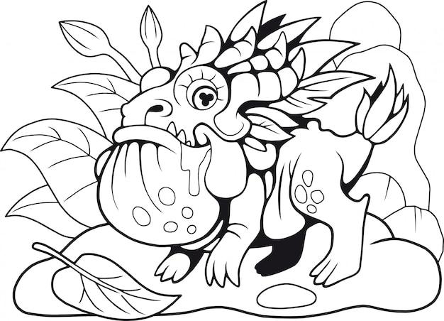 Dragon crapaud