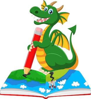 Dragon de dessin animé