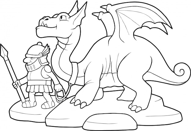 Dragon drôle
