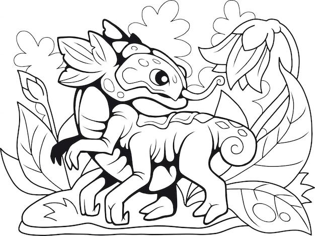 Dragon de fleur