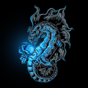 Dragon magic power ball