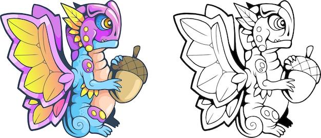 Dragon papillon