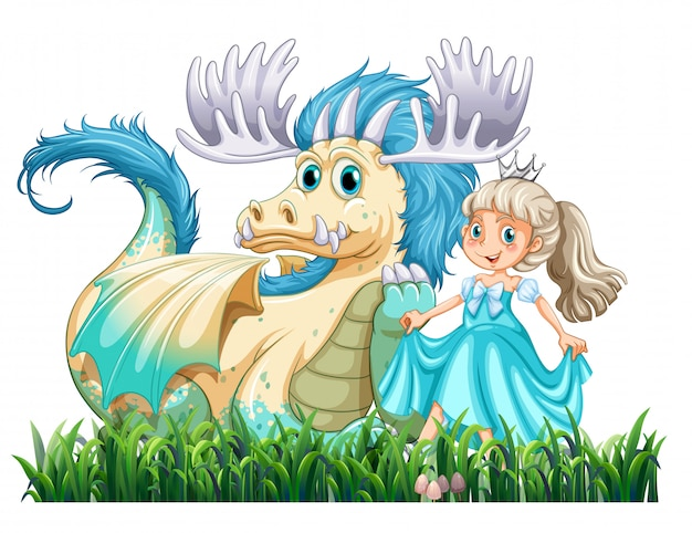 Dragon et princesse