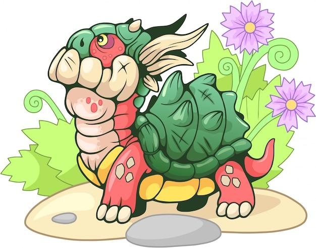 Dragon tortue mignon
