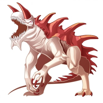 Les dragons sont des animaux fantastiques en style cartoon.