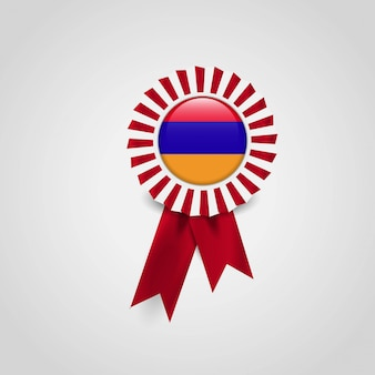 Drapeau de l'arménie bannière