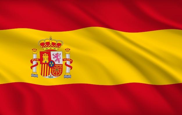 Drapeau espagnol, identité nationale du pays espagne