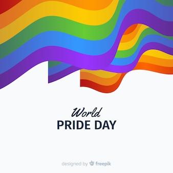 Drapeau jour de fierté