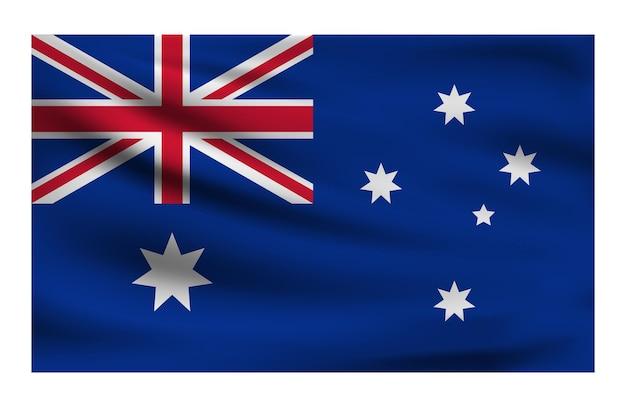Drapeau national réaliste de l'australie